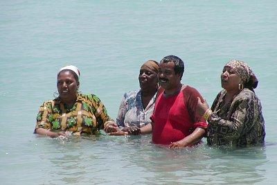 Afričané v moři