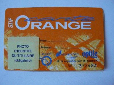 Foto Carte Orange