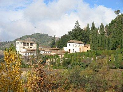 Palácové zahrady Generalife
