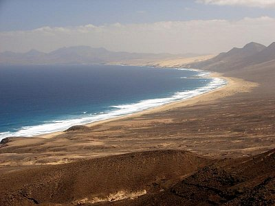 Fuerteventura - Playa de Cofete (nahrál: Hanča)