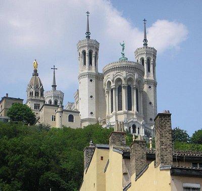 Bazilika Panny Marie z Fourviere (nahrál: admin)