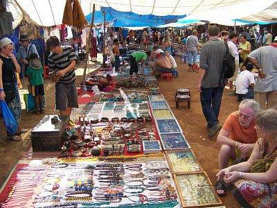 Bleší trh u pláže Anjuna (nahrál: admin)