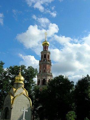 Novoděvičí klášter - věž (nahrál: admin)
