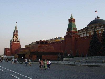 Spaská věž a mauzoleum V.I.Lenina (nahrál: Kamil Hainc)