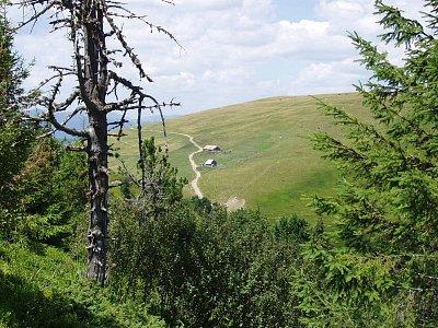 výhled z vrchu Terentin - polonina Svidovec (nahrál: Kamil Hainc)