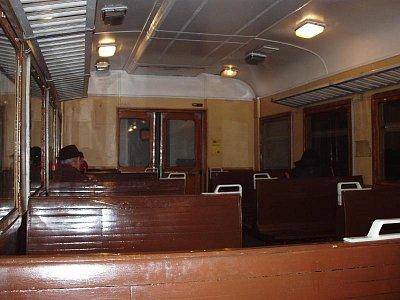 interiér vagónu (nahrál: Kamil Hainc)