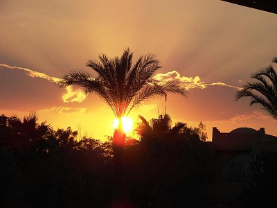 Západ slunce v Ain Soukhna (nahrál: Oldrich Kvapil )