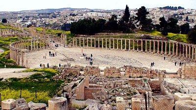 Jerash - Oválné fórum (nahrál: petras21)