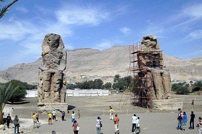 Memnonovy kolosy - Amenhotep III. (nahrál: Šebík)