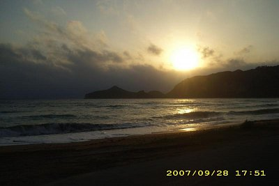 Korfu-Ag.Georgios-Pagi - Také nádherné západy slunce (nahrál: Lenka Zagalská)