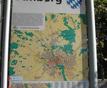 Německo Amberg