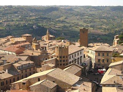 pohled na Orvieto (nahrál: Lenka)