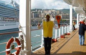 Okružní plavba lodí MSC Lirica po Západ.Středomoří
