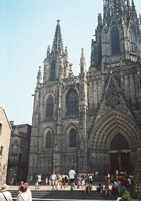 Barcelona-katedrála (nahrál: Rea)