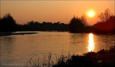 Amboise - Západ slunce nad Loirou (nahrál: Radek David)