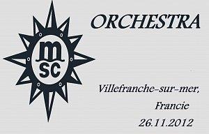 MSC Orchestra Za tajemstvím Rio de Janeira- 2.Zastavení Villefranche